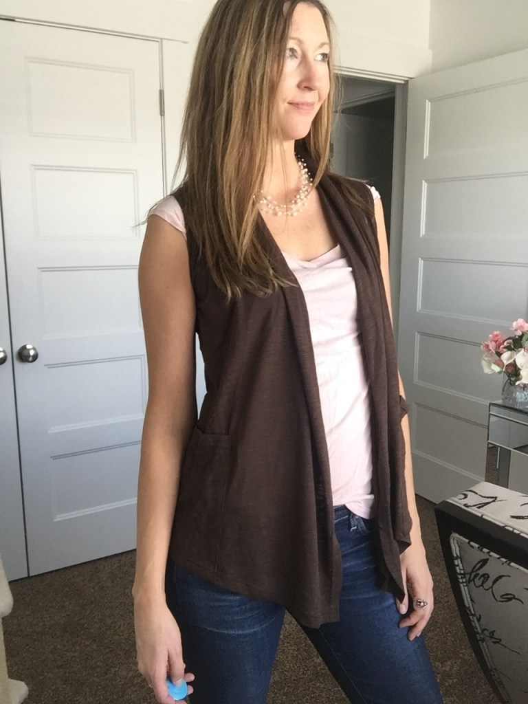 Cute Lightweight Vest Perfect for Spring Layering