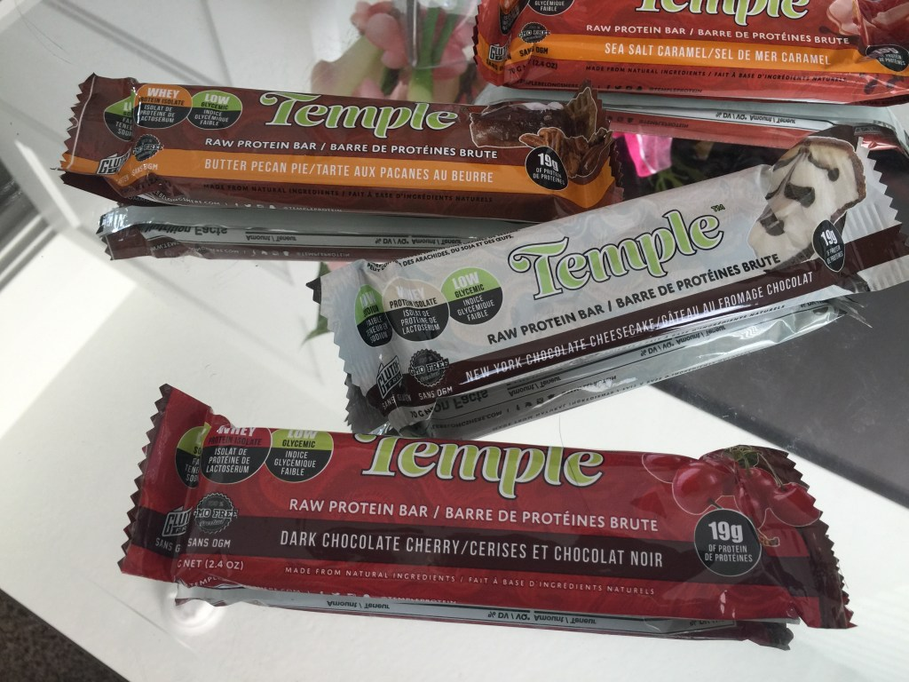temple protein bars