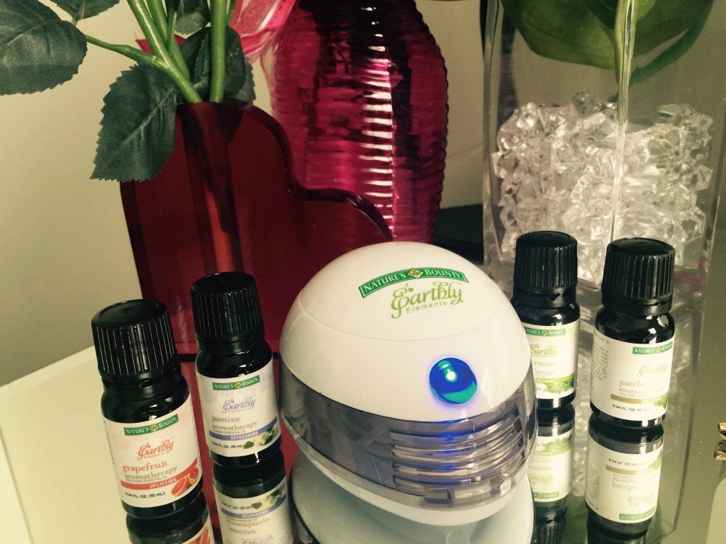 natures bounty earthly elements aromatherapy diffuser