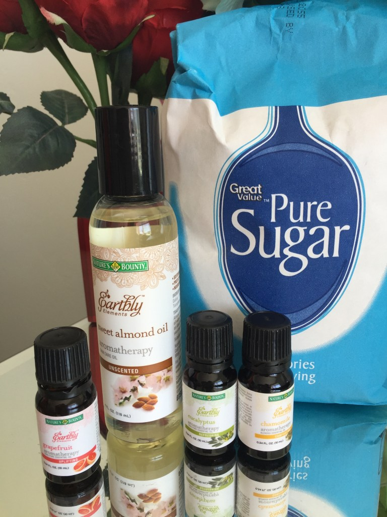 DIY- after sun Relaxing Sugar Scrub 3