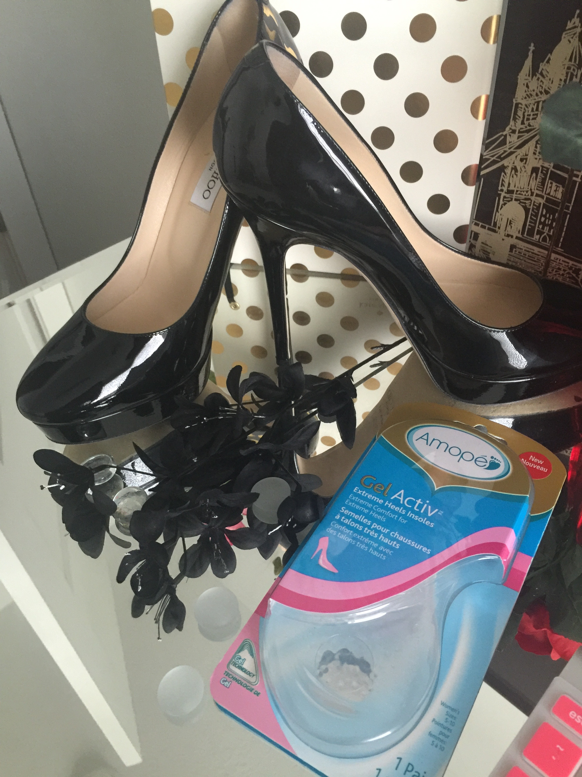 87e49cbd2e Interested in trying out Amopé Gel Activ Insoles, and turning your favorite  pair of heels into sneakers? Check them out at your Nearest Target and  Don't ...