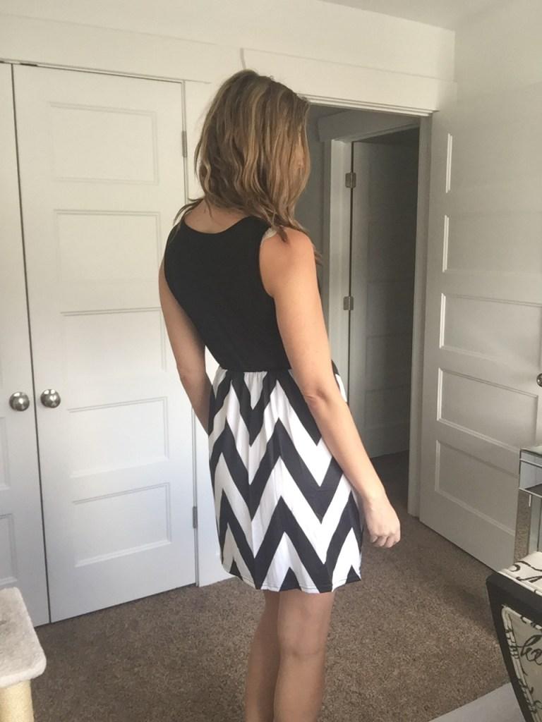 Win a cute chevron tank dress