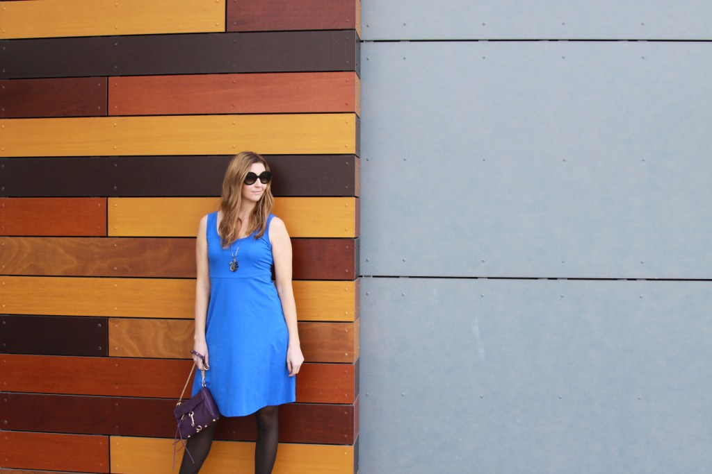 Chic blue Tank Dress