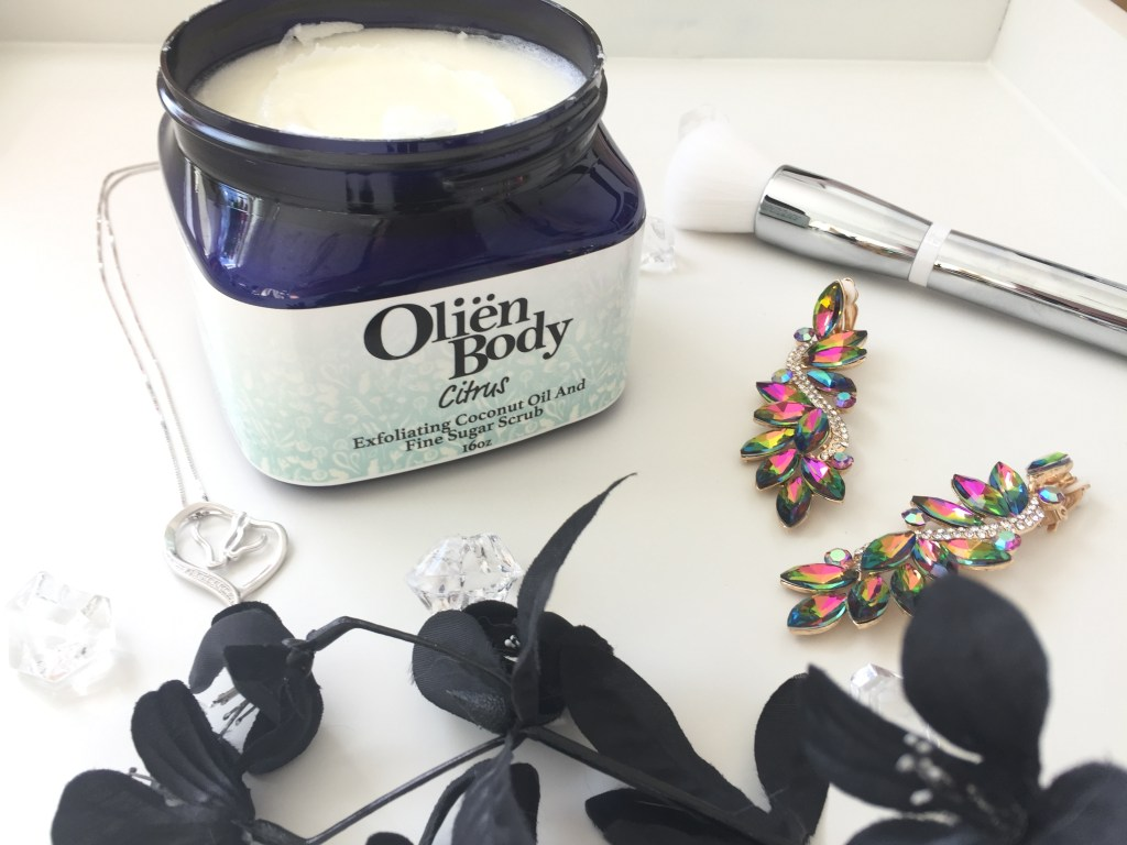 Olien sugar body scrub