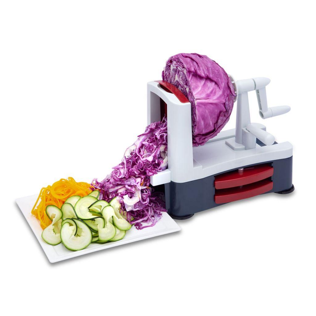 Vegetable Spiralizer for Low Carb Vegan/Vegetarian/Gluten-Free Meals, Healthier Meals