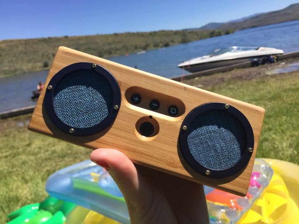 Bongo Bamboo Bluetooth Speaker