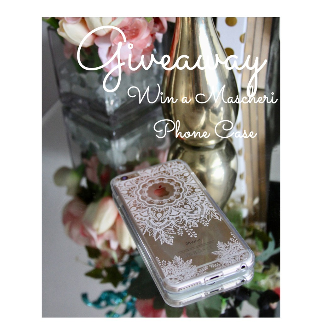 GIVEAWAY: Win a Gorgeous Mascheri Cell Phone Case