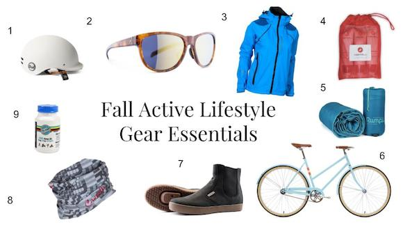 Fall Gear Essentials For Active Lifestyles