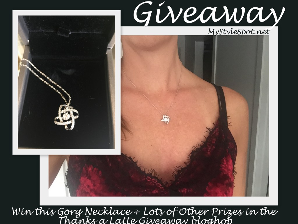 GIVEAWAY: Win a Gorgeous Necklace from Sable + Lots of Other Giveaways in the #ThanksaLatte #bloghop