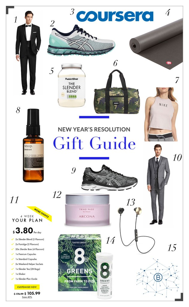 New Years Resolution Gift Guide