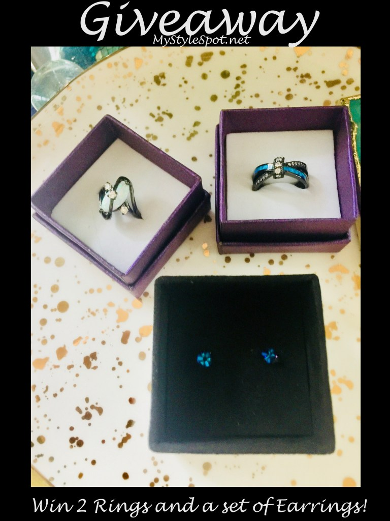 rings and earrings jewelry giveaway