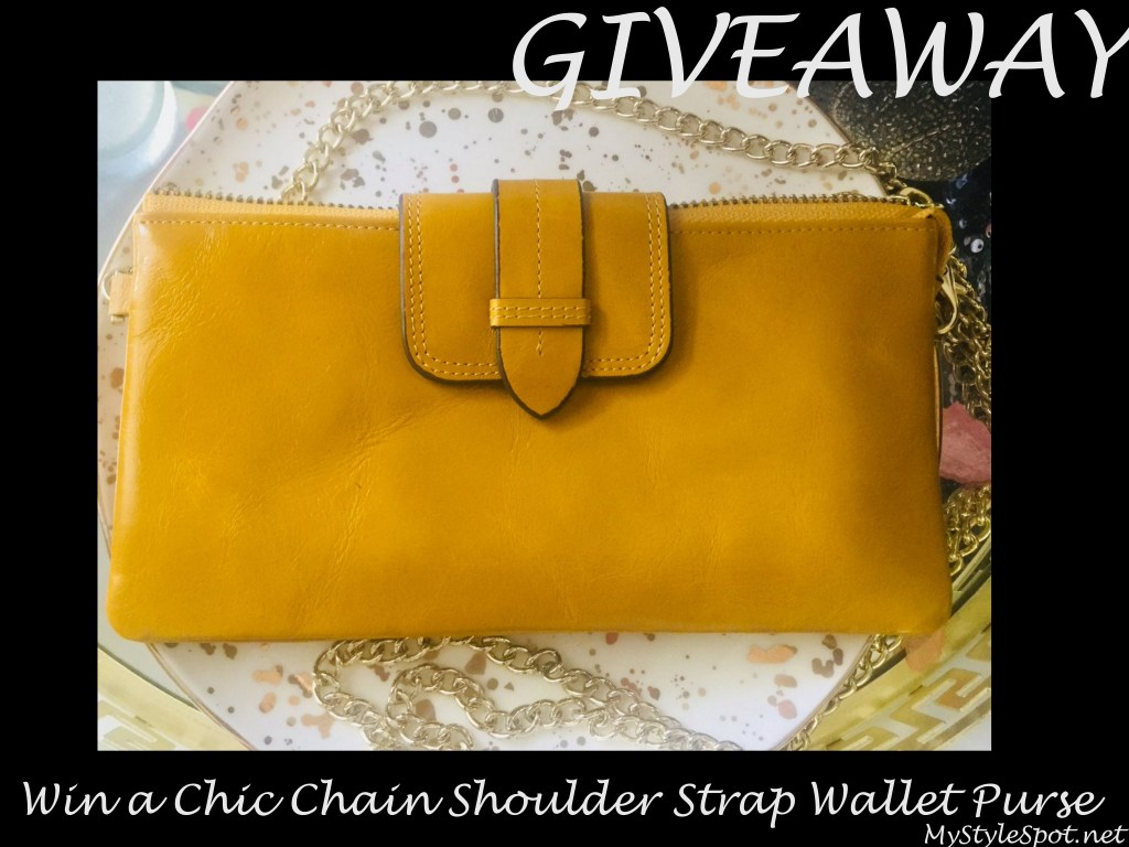 mustard yellow clutch wallet
