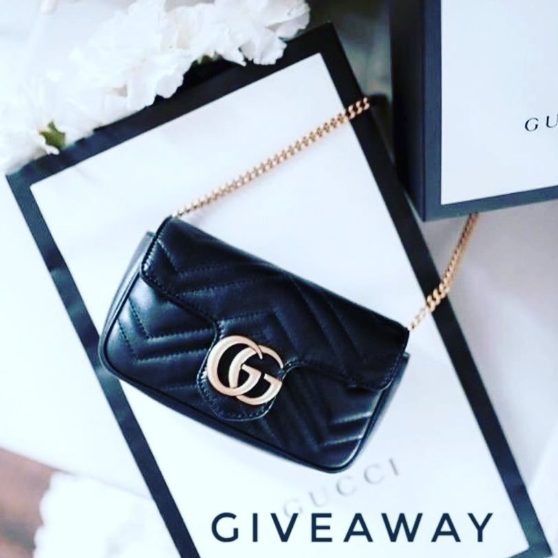 GIVAWAY: Win a Gucci Handbag - OPEN WORLDWIDE