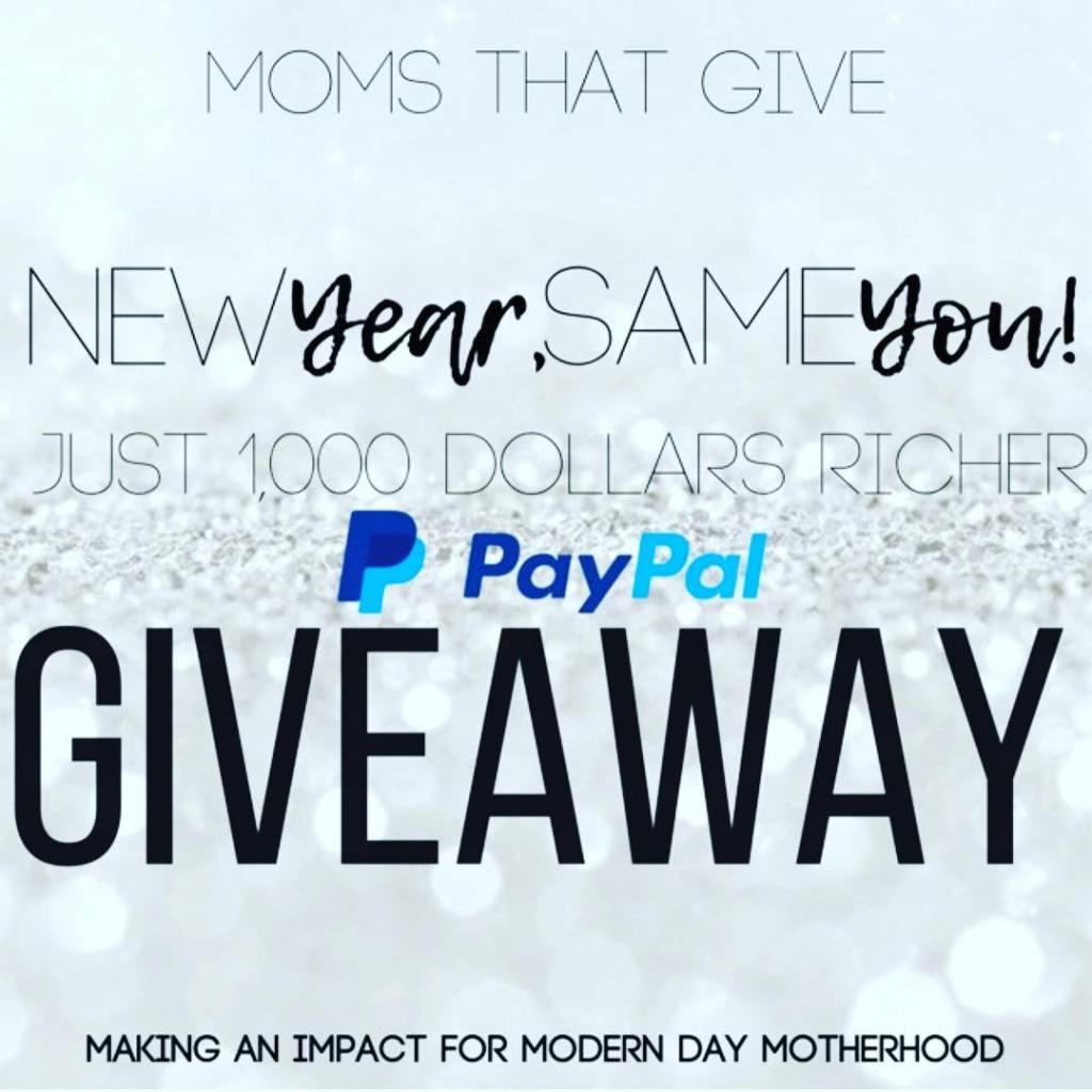 1000 IG paypal cash giveaway