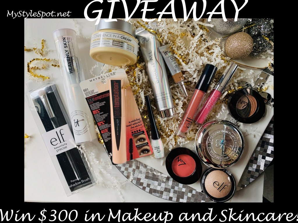 Win over $300 in makeup and skincare!