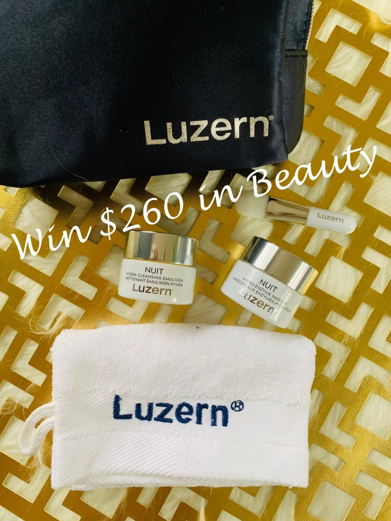 Enter to win over $260 in beauty from luzern labs