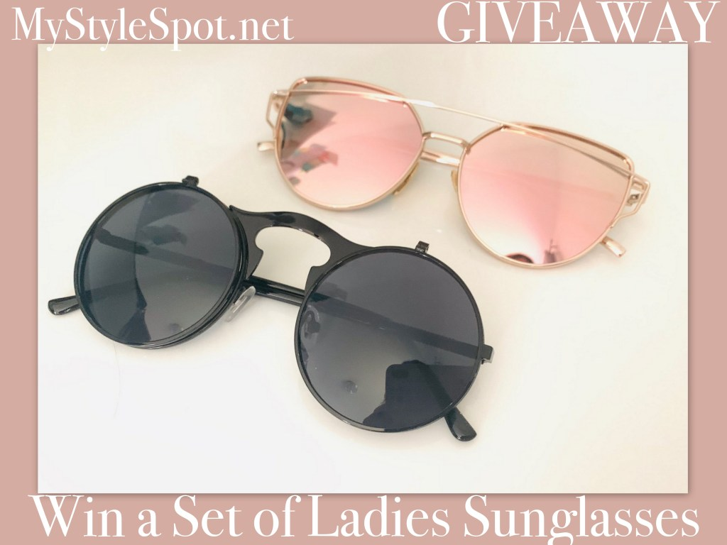 GIVEAWAY: Win a Chic Ladies Sunglasses Set + Tons of Other Great Summer Prizes
