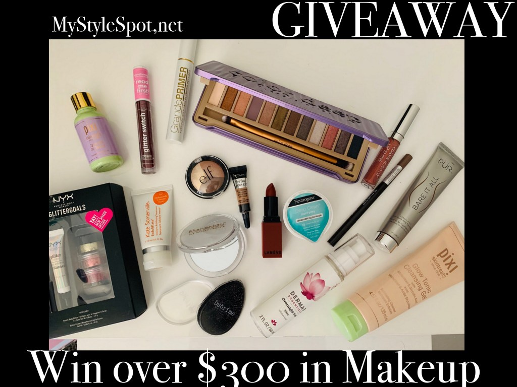 Enter to win over $300 in makeup