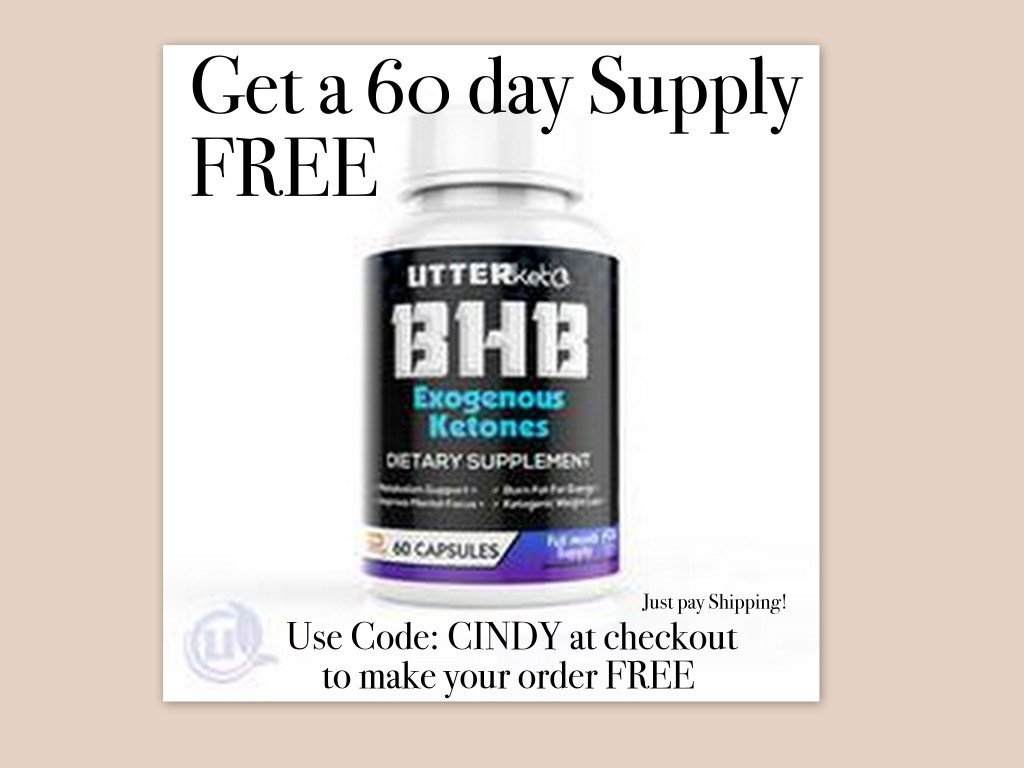 Get a free 60 day supply of keytones for improved energy, mood, focus, and weightloss
