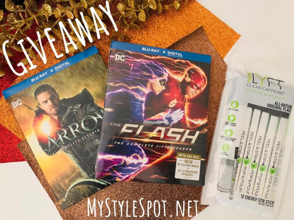 Enter to win the new season of Flash and Arrow + Caffeine to help you binge-watch!