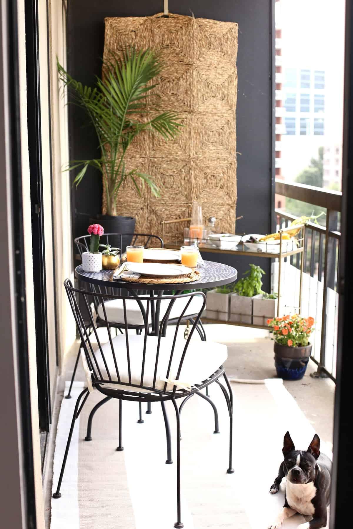 High Rise Patio Ideas on Backyard Balcony Ideas id=57391