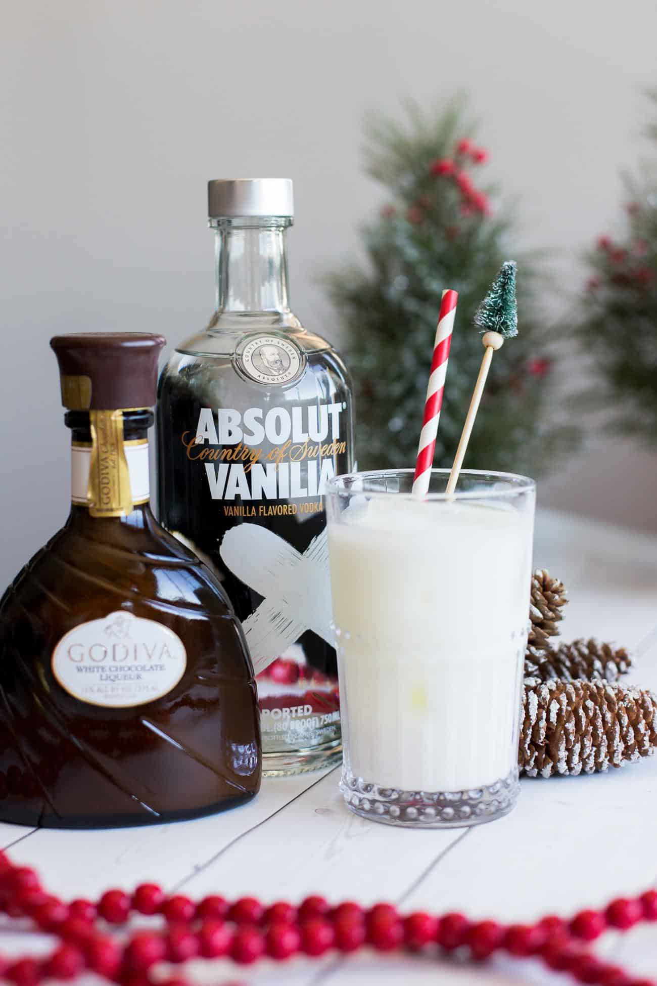 Winter Wonderland Cocktail White Chocolate Cocktail My
