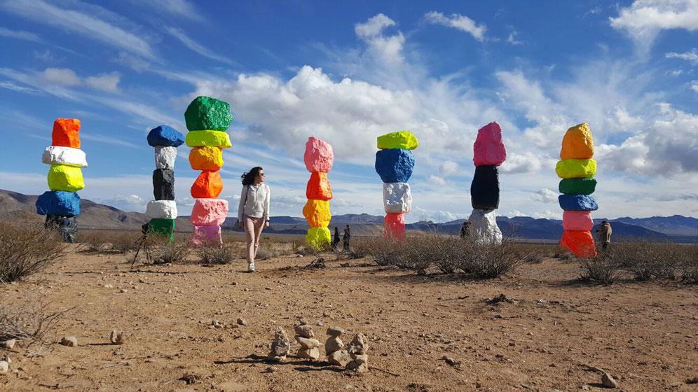 LasVegas-SevenMagicMountains-Travel-Trip-RpadTrip-ArtWork-Vegas-KarlaVargas