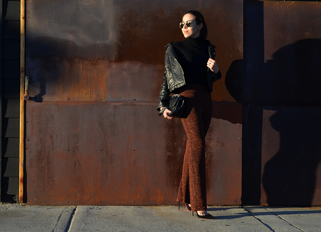 KarlaVargas-BlackJacket-SanDiego-SanDiegoBlogger-StatementPants