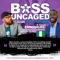 "Podcast Producer: Emmanuel Kolawole Olugbenga aka ""Emmy"" - S1E18 (#18)"