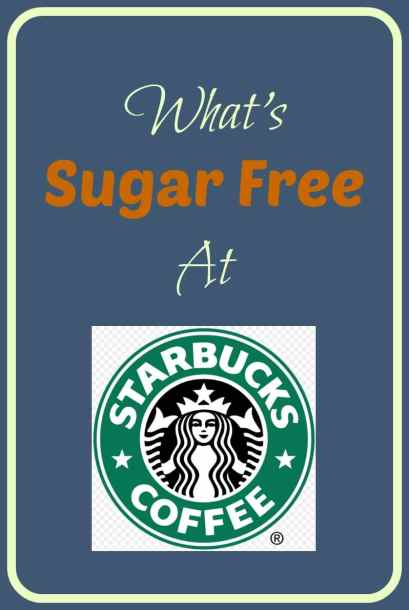 What's Sugar Free at Starbucks?