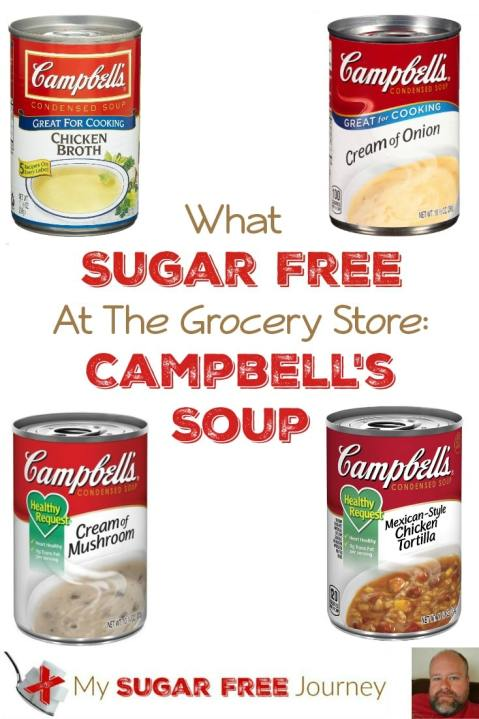 What's Sugar Free at The Grocery Store?: Campbell's Soup Edition