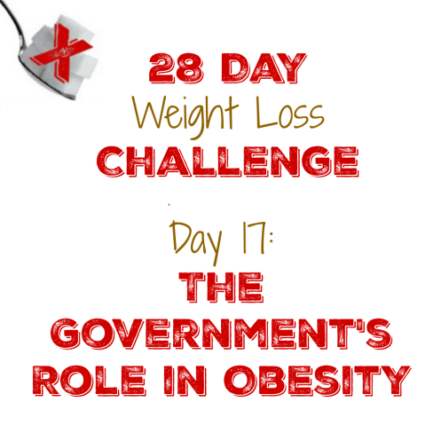 Day 17: The Government's Role in Obesity