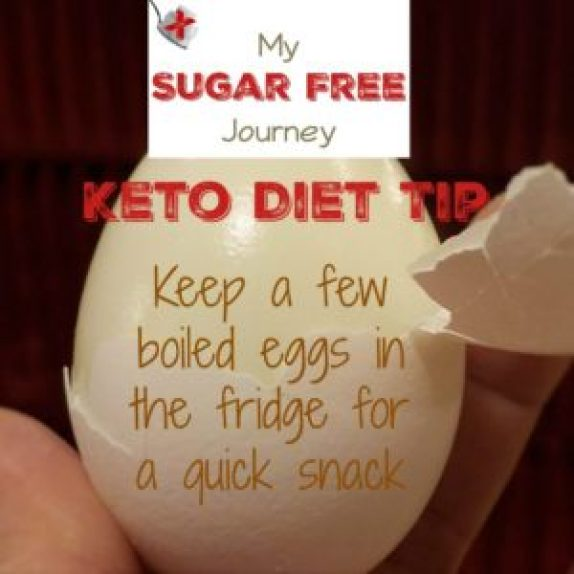 Keto Tips: Keep a Few Boiled Eggs in Fridge for a Quick Snack!