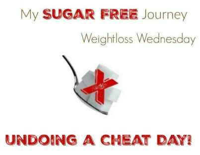 8/10 Weightloss Wednesday: Undoing a Cheat Day!