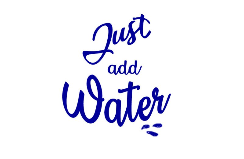 Estate 2019 - campagna promozionale social #justaddwater