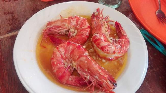 Buttered Prawns (Photo from D. Biagtan)