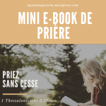 ebook priere by my sunny posts