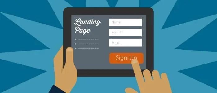 оптимизиране на лендинг страница