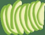 Avocado slices
