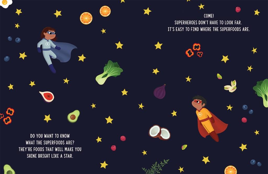 My SuperHero Foods Preview 1