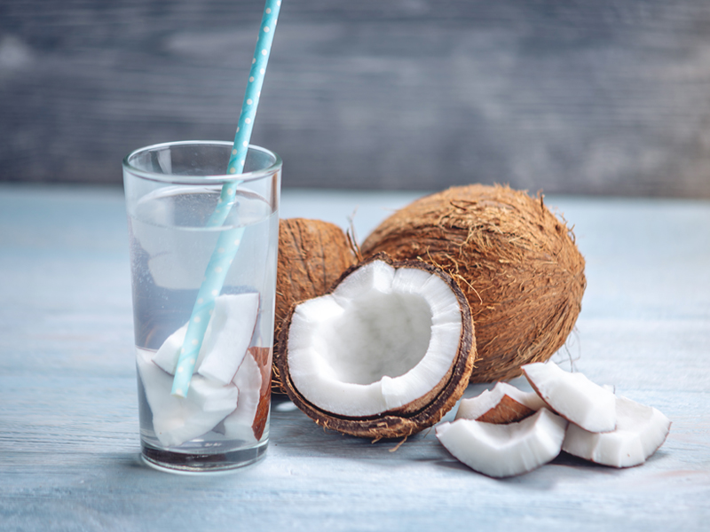Coconuts water