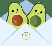 My SuperHero Foods Avocado Friends