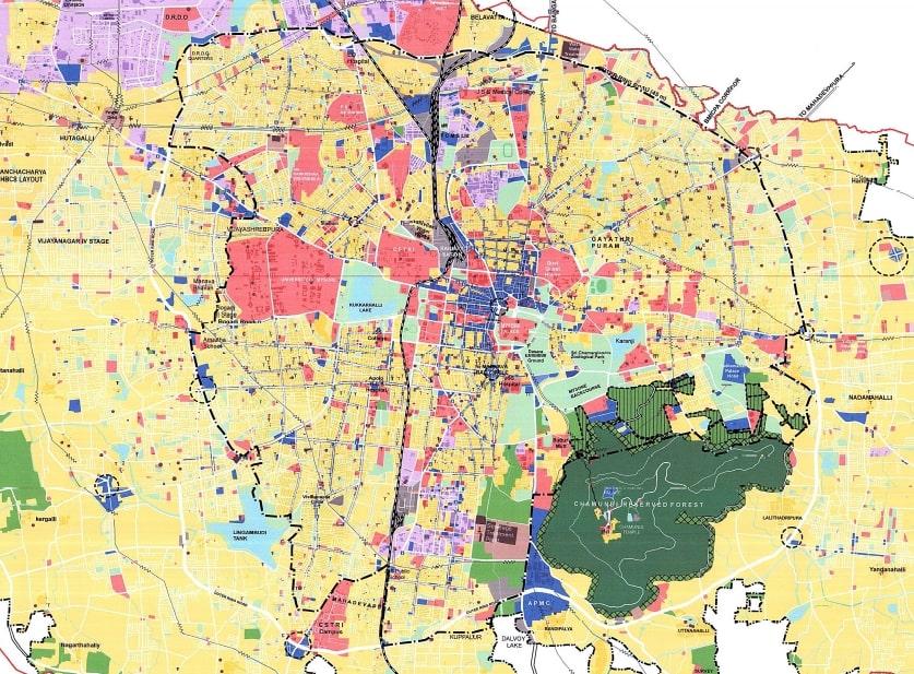 Mysuru Land Usage Map
