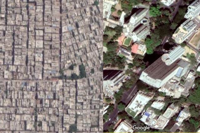 Horizontal versus Vertical Urban setting