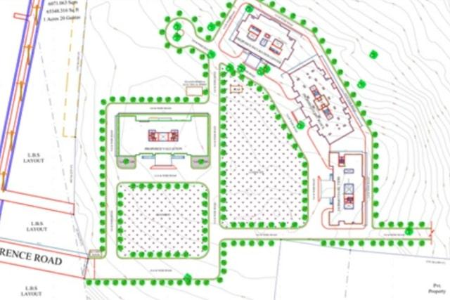 Site Layout | VTU Incubation & Skill Development Centre, Mysuru