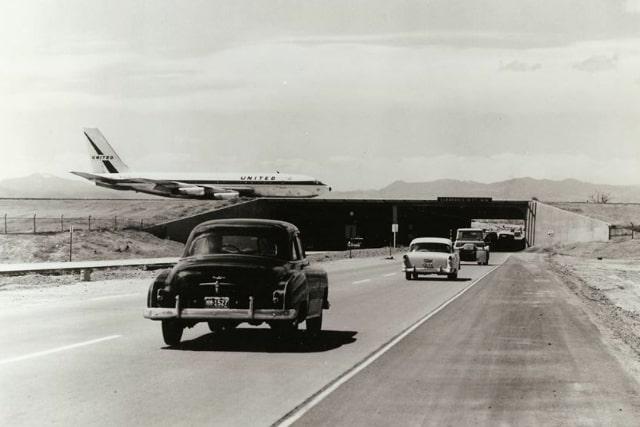 airport runway underpass