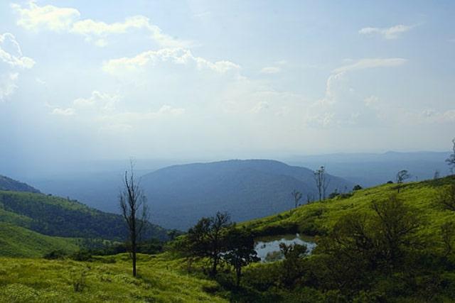 View from Bandipur's highest point on the Himavad Gopalaswamy Betta | Pic Credits- Yathin S Krishnappa