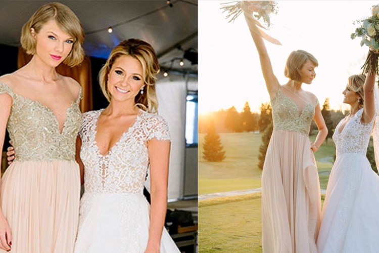 Taylor Swift é 'a Dama de Honra Mais Feliz do Mundo'!