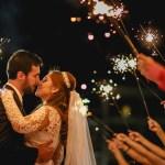 Casamento em Blumenau - Joanna e Rafael - sparkles