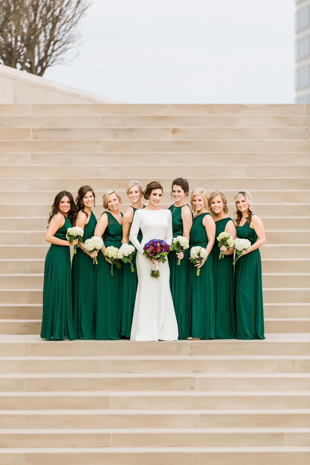 Emerald Green Bridesmaid Dresses My Sweet Engagement